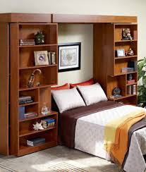 Modloft Worth Bed by Cool Murphy Beds Bookcase Cool Murphy Beds For Limited Space