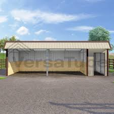 Metal Loafing Shed Kits by Single Slope Loafing Shed 12 X 30 X 10 8 Barn Or Loafing Shed