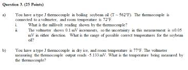 question 3 25 points a you a type j thermo chegg