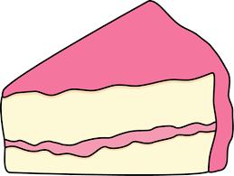 Cake Clip Art Slice of cake clipart black and white free