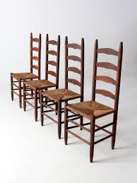 Antique Ladder Back Chairs With Rush Seat | Manly Furniture And ...