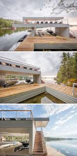 100 Lake Boat House Designs Cibinel Architecture Have Designed A Modern House With An