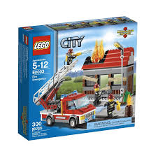 Amazon.com: LEGO City Fire Emergency 60003: Toys & Games | LEGO ...