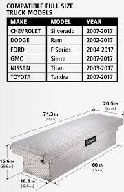 Husky 71.3 In. X 20.5 In. X 15.6 In. Aluminum Full Size Low Profile ... Amazoncom Tyger Auto Tgbc3c1007 Trifold Truck Bed Tonneau Cover 2017 Chevy Colorado Dimeions Best New Cars For 2018 Confirmed 2019 Chevrolet Silverado To Retain Steel Video Chart Unique Used 2015 S10 Diagram Circuit Symbols Chevrolet 3500hd Crew Cab Specs Photos 2008 2009 1500 Durabed Is Largest Pickup Dodge Ram Charger Measuring New Beds Sizes Lovely Pre Owned 2004