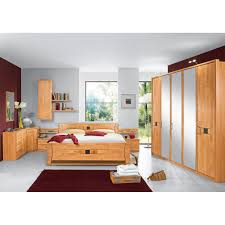 casavanti schlafzimmer set neapel erle teilmassiv mocca