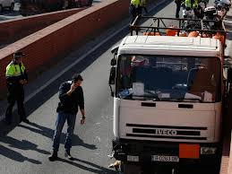 Barcelona Police Shoot At Man Driving Lorry Loaded With Butane Gas ... Truckdriving Dog Sparks Chaos After Getting Behind Wheel Of Human Trafficking Awareness With Unchained Movement New At 6 Tow Truck Driver Accused Soliciting Sex From The Revolutionary Routine Of Life As A Female Trucker El Trailero Magazine Iama Former Driving Instructor Truckers Are Killed More Arisia 13 Tow Arrested For Fox23 Trucking Biz Buzz Archive Land Line Rewriting Industry Stereotypes By Being A Professional Truck Driver Power Pallet Recycling Center Jobs Casual Commercial Train To Help Rescue Slaves On The Road Kansas