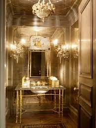 Image Of Congenial Powder Room Decorating Tips