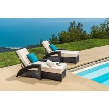 Pacific Bay Patio Chairs by Pacific Chaise Lounger 2 Pack