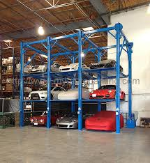 Sale Vertical Stacker Car Parking Equipment 2 3 4 Floor Smart
