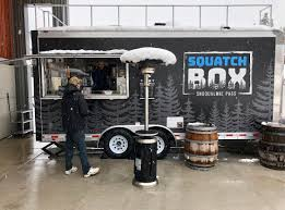 100 Outside The Box Food Truck Squatch Food Truck Outside Of Dru Bru On Snoqualmie Pass WA