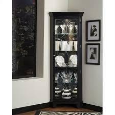 Walmart Corner Curio Cabinets by Pulaski Oxford Black Corner Curio Cabinet Walmart