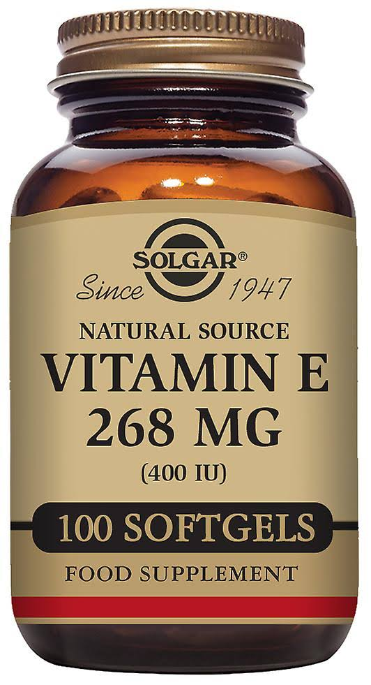 Solgar Vitamin E Dietary Supplement - 50 Softgels
