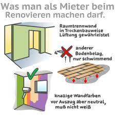 mietwohnung selbst renovieren das ist erlaubt