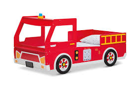 Freddy Fire Engine Single Bed | Amart Furniture