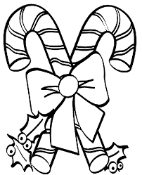 Candy Cane Coloring Page Best Pages