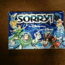 Sorry Board Game Disney Edition