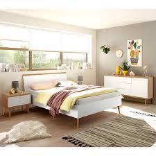schlafzimmer jugendbett kombination mainz 61 in weiß matt mit eiche riviera skandinavischer look