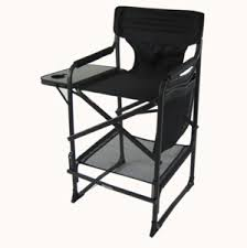 Lightweight Aluminum Directors Chair by All Aluminum Tall Directors Chair By E Z Up