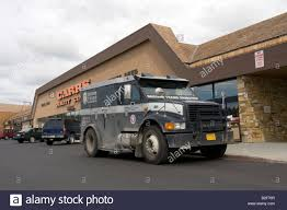 100 United Truck Center Armoured Money Truck In Front Of Carrs Quality Supermarket In
