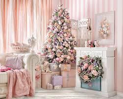 Pink Christmas Backdrop