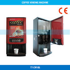 Commercial Coffee Vending Machine Main View DiscontinuedRed