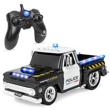 100 The Truck Shop Sayville BCP Kids Remote Control Police Rescue Car RC Toy W Lights