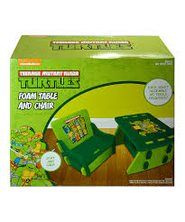 Teenage Mutant Ninja Turtles TMNT Foam Table & Chair | Zulily Teenage Mutant Ninja Turtles Childrens Patio Set From Kids Only Teenage Mutant Ninja Turtles Zippy Sack Turtle Room Decor Visual Hunt Table With 2 Chairs Toys R Us Tmnt Shop All Products Radar Find More 3piece Activity And Nickelodeon And Ny For Sale At Up To 90 Off Chair Desk With Storage 87 Season 1 Dvd Unboxing Youtube