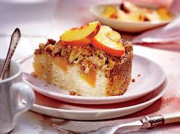 Fresh Peach Coffee Cake with Pecan Streusel Recipe Southern Living