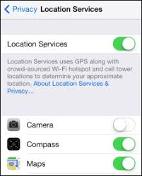 Fixed GPS not working after updating iOS 11 on iPhone and iPad