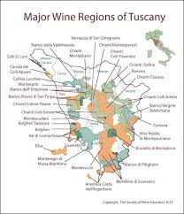 Wine Regions In Tuscany Cortona And Montepulciano Are The East Credit Society