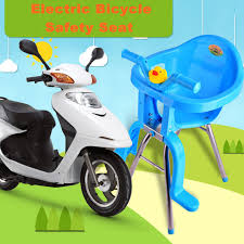 Baby Child Womens Motorcycle Electric Bicycle Bike Safety Seat Front Chair Battery Scooter Toddler