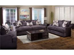 Broyhill Laramie Microfiber Sofa In Distressed Brown by Michael Nicholas Designs Living Room Ettica Sofa 043685