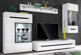 wohnwand 4 tlg soft beschläge tv unit decor tv