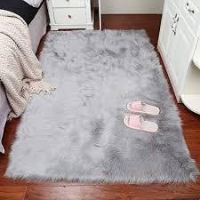 teppiche teppiche matten faux lammfell schaffell teppich