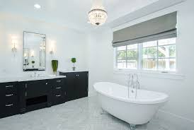 Mini Chandelier Over Bathtub by 27 Beautiful Bathrooms With Clawfoot Tubs Pictures Designing Idea