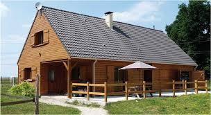 principe de construction de la maison à ossature bois
