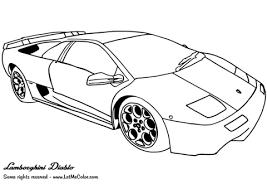 Click To See Printable Version Of Lamborghini Diablo Coloring Page
