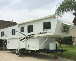 2002 TRAIL MANOR Pop Up Travel Trailer 2