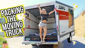 100 Packing A Moving Truck PCKING THE MOVING TRUCK Vloggest