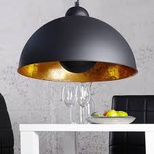 moderne hängele studio schwarz gold le blattgold