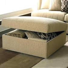 Extra Ottoman Coffee Table Size Leather Ottoman