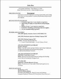 Government Resume How To Write For Job Best Writing