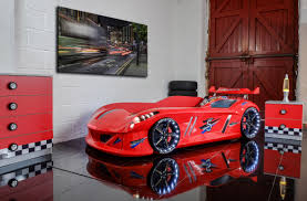 Thunder Race Car Bed Red Car Bed Shop