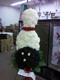 Bowling Themed Funeral Flowers