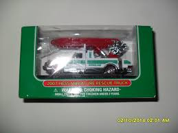 100 2007 Hess Truck Amazoncom Miniature Rescue Toys Games