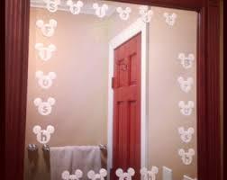 Vintage Mickey Bathroom Decor by Disney Bathroom Etsy
