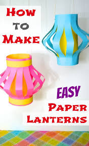 How To Make Easy Paper Lanterns Kids Culinary Passport Japan