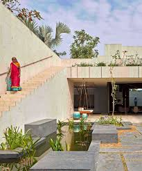 100 Design Of House In India Sandstone House In Ahmedabad India By SPASM Features Secret Gardens
