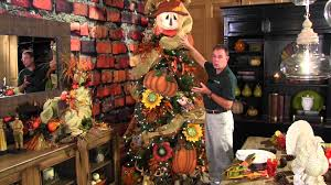 Christmas Tree Decorations Ideas Youtube by How To Decorate A Fall Or Thanksgiving Tree Youtube