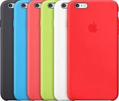 Funda Silicone Case de Apple Original para el iPhone 6 Plus